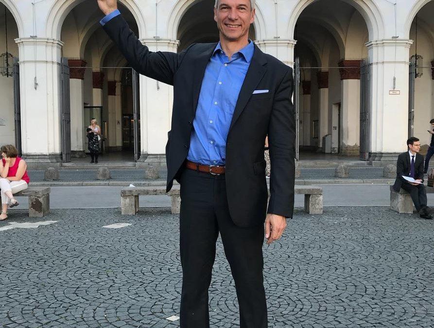 Tino Ahlers bei der Miss Deutschland Wahl in der Jury
